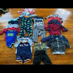 Baby Boy clothing Lot of 26